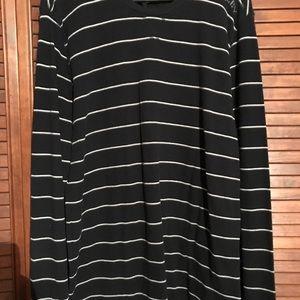 XL Hurley Striped long sleeve shirt